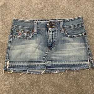 Abercrombie and Fitch mini skirt